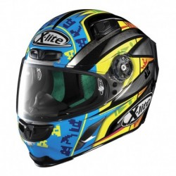 CASCO X-LITE X803 REPLICA CAMIER 025 SCRATCH CHROME LG
