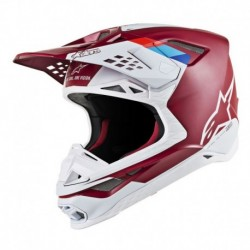 Casco Alpinestars S-M8 Contact Rojo