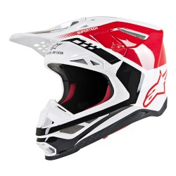 Casco Alpinestars S-M8 Triple Rojo
