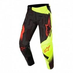 Pantalon Alpinestars Techstar Factory 2020 (Negro/Amarillo)