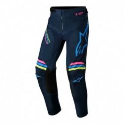 Pantalon de niño Alpinestars Racer Braap 2020 (Azul Marino)