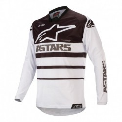 Polera Alpinestars Racer Supermatic 2020 (Blanco)