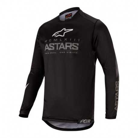 Polera Alpinestars Racer Graphite 2020 (Negro)
