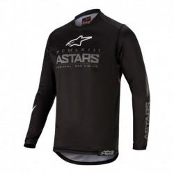 Polera de niño Alpinestars Racer Graphite 2020 (Negro)