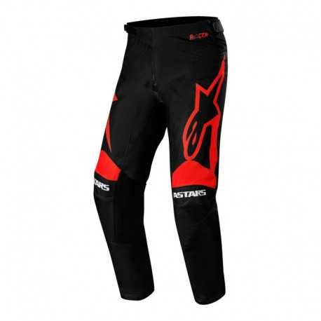 Pantalon Alpinestars Racer Supermatic 2020 (Negro/Rojo)