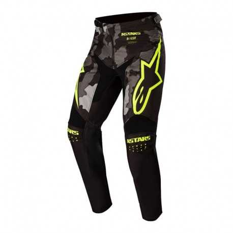Pantalon de niño Alpinestars Racer Tactical 2020 (Negro/Amarillo)