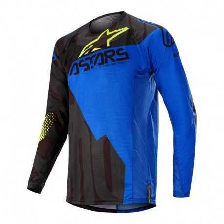 Polera Alpinestars Techstar Factory 2020 (Azul Oscuro)