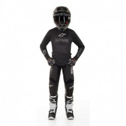 Traje de niño Alpinestars Racer Graphite 2020 (Negro)