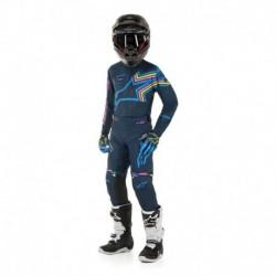 Traje de niño Alpinestars Racer Braap 2020 (Azul Marino)