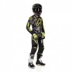Traje de niño Alpinestars Racer Tactical 2020 (Amarillo)