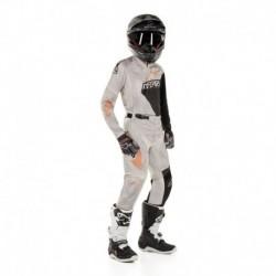 Traje de niño Alpinestars Racer Factory 2020 (Gris Claro)
