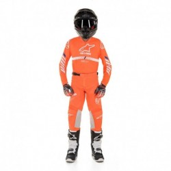 Traje de niño Alpinestars Racer Tech 2020 (Naranjo)