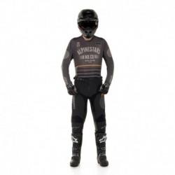 Traje Alpinestars Racer Tech Flagship 2020 (Gris Oscuro)