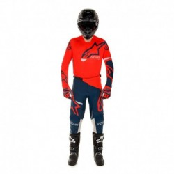 Traje Alpinestars Racer Tech Compass 2020 (Rojo)