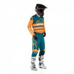 Traje Alpinestars Racer Supermatic 2020 (Naranjo)