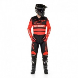 Traje Alpinestars Racer Supermatic 2020 (Rojo)
