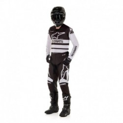 Traje Alpinestars Racer Supermatic 2020 (Blanco)