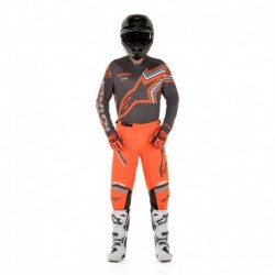 Traje Alpinestars Racer Braap 2020 (Gris Oscuro)