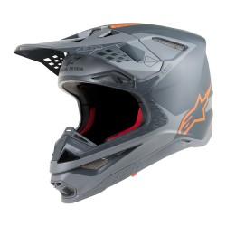 Casco Alpinestars S-M10 Metal Gris