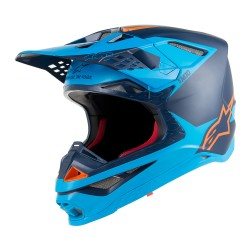 Casco Alpinestars S-M10 Metal Azul
