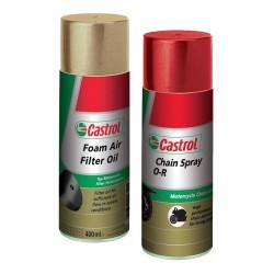 Kit Castrol Lubricante de Cadena + Foam Filter Oil