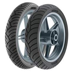 Neumático Rinaldi 100/90*10 HB37 Tubular