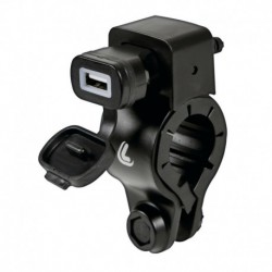 USB-Fix Lampa Universal Handlebar 12/24 Carga Rápida