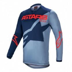Polera Alpinestars Racer Braap 2021 (Azul)