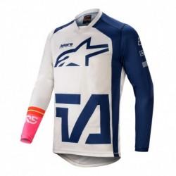 Polera Alpinestars Racer Compass 2021 (Azul)