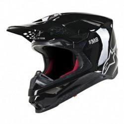 Casco Alpinestars S-M8 Solid Negro