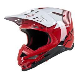 Casco Alpinestars S-M10 Dyno Rojo