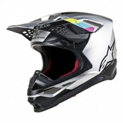 Casco Alpinestars S-M8 Contact Gris