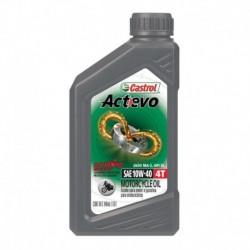 Aceite Castrol Actevo 4T 10W40 1qt