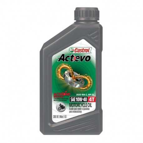 Aceite Castrol Actevo Mineral 4T 10W40 1qt