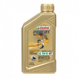 Aceite Castrol Power 1 4T 5W40 1qt