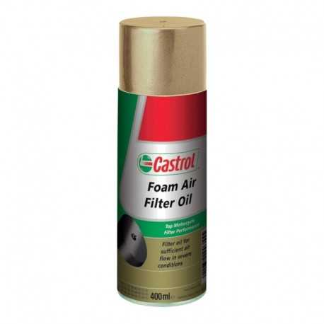 Aceite Castrol Foam Filter Oil 400ml