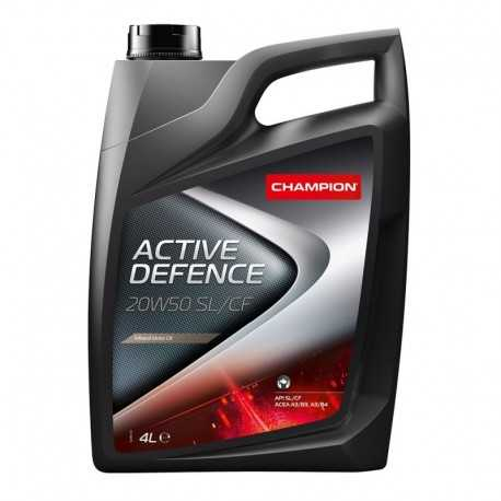 Aceite Champion Active Defence 20W50 SN/CF 4lts