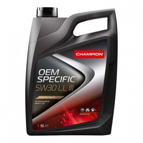 Aceite Champion OEM Specific 5W30 LL III 5lts