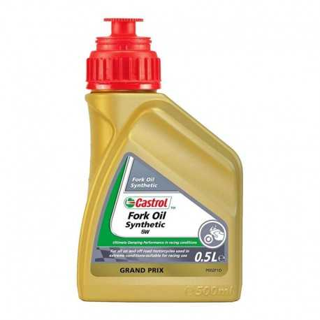 Aceite Castrol Fork Oil Synthetic 5W 500ml